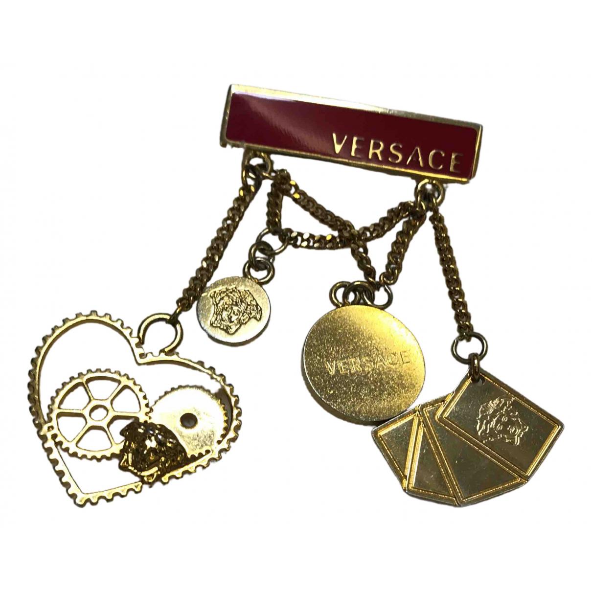 Versace \N Schmuckstuecke in  Gold Gold und Stahl