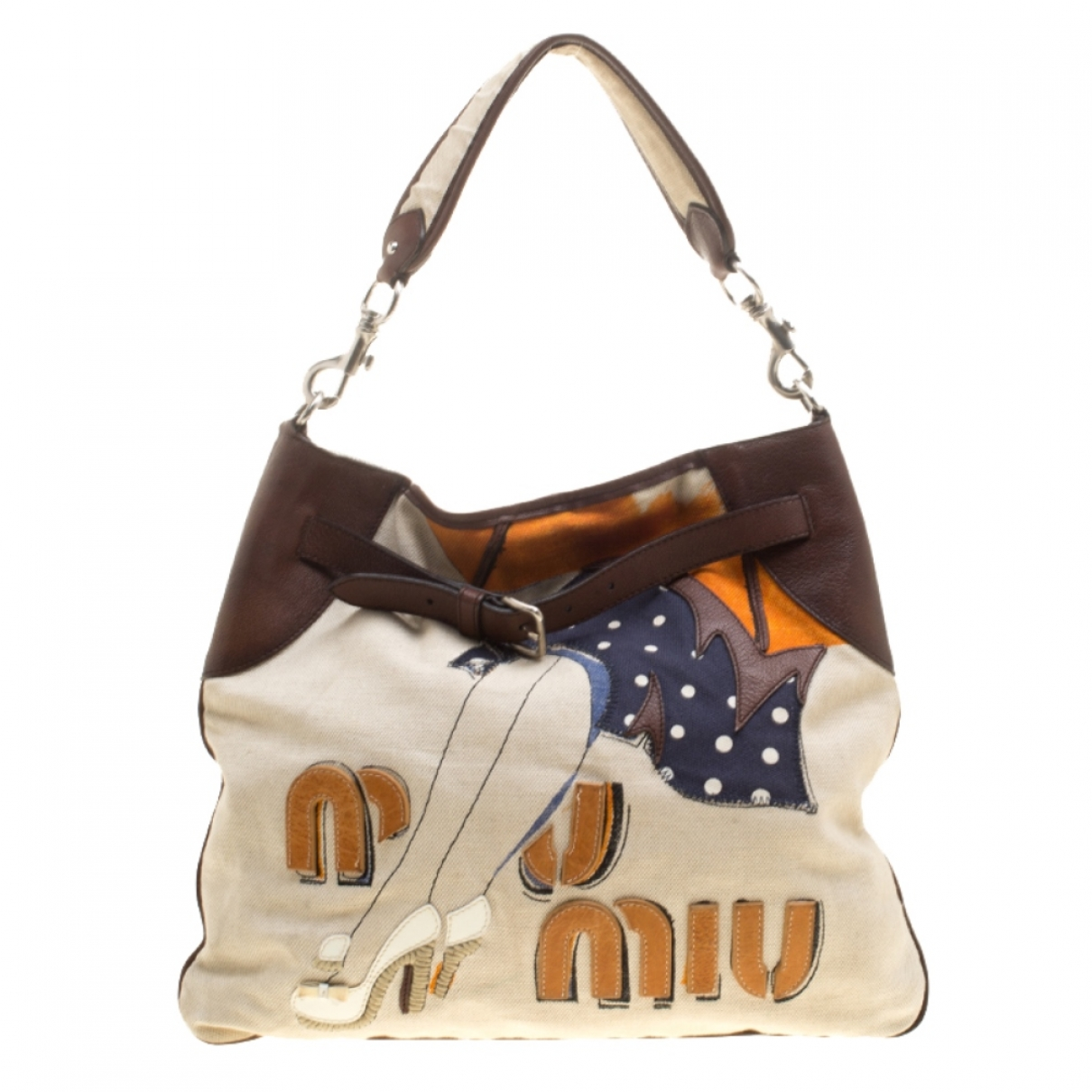 Miu Miu \N Beige Cloth handbag for Women \N