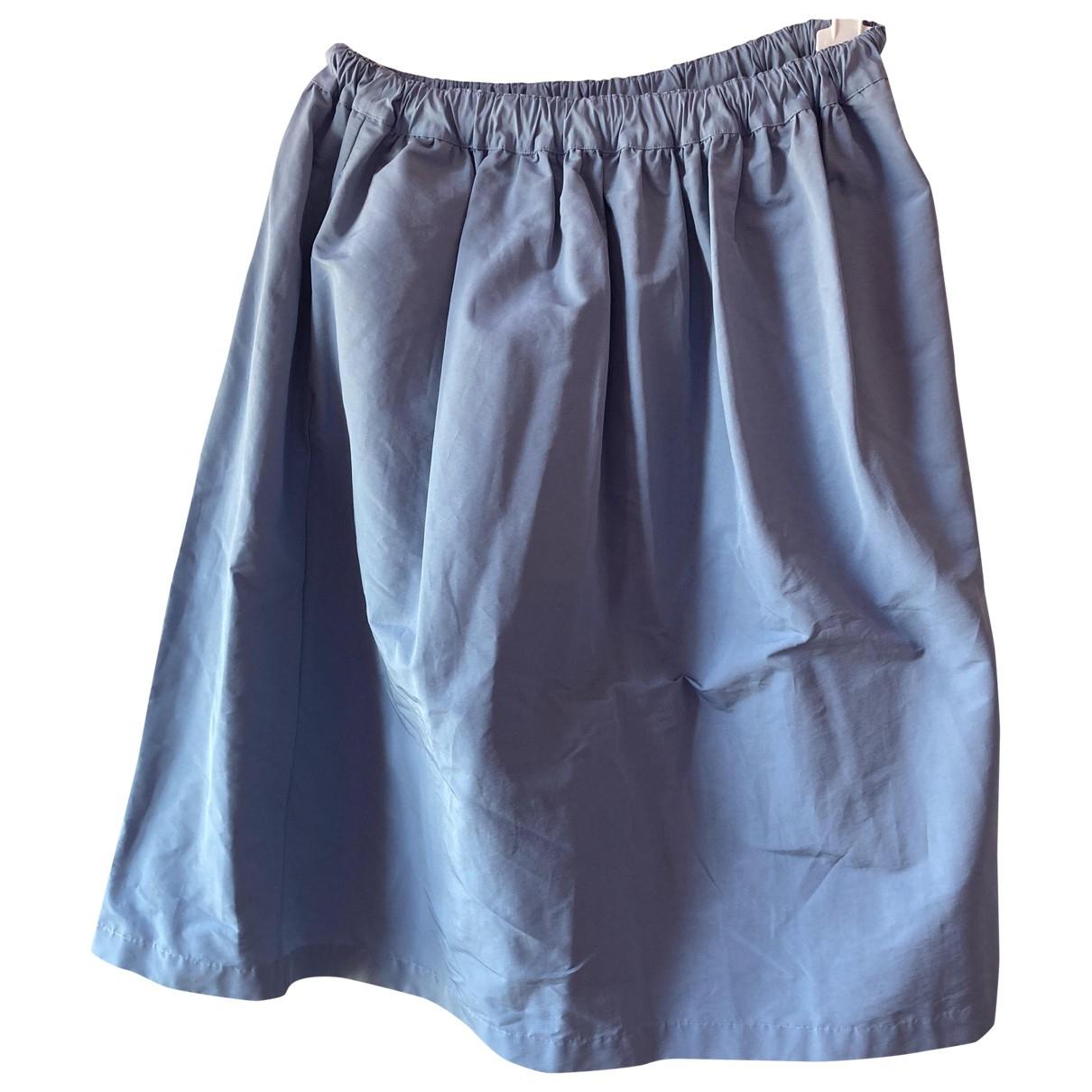 Plan C - Jupe   pour femme en coton - bleu