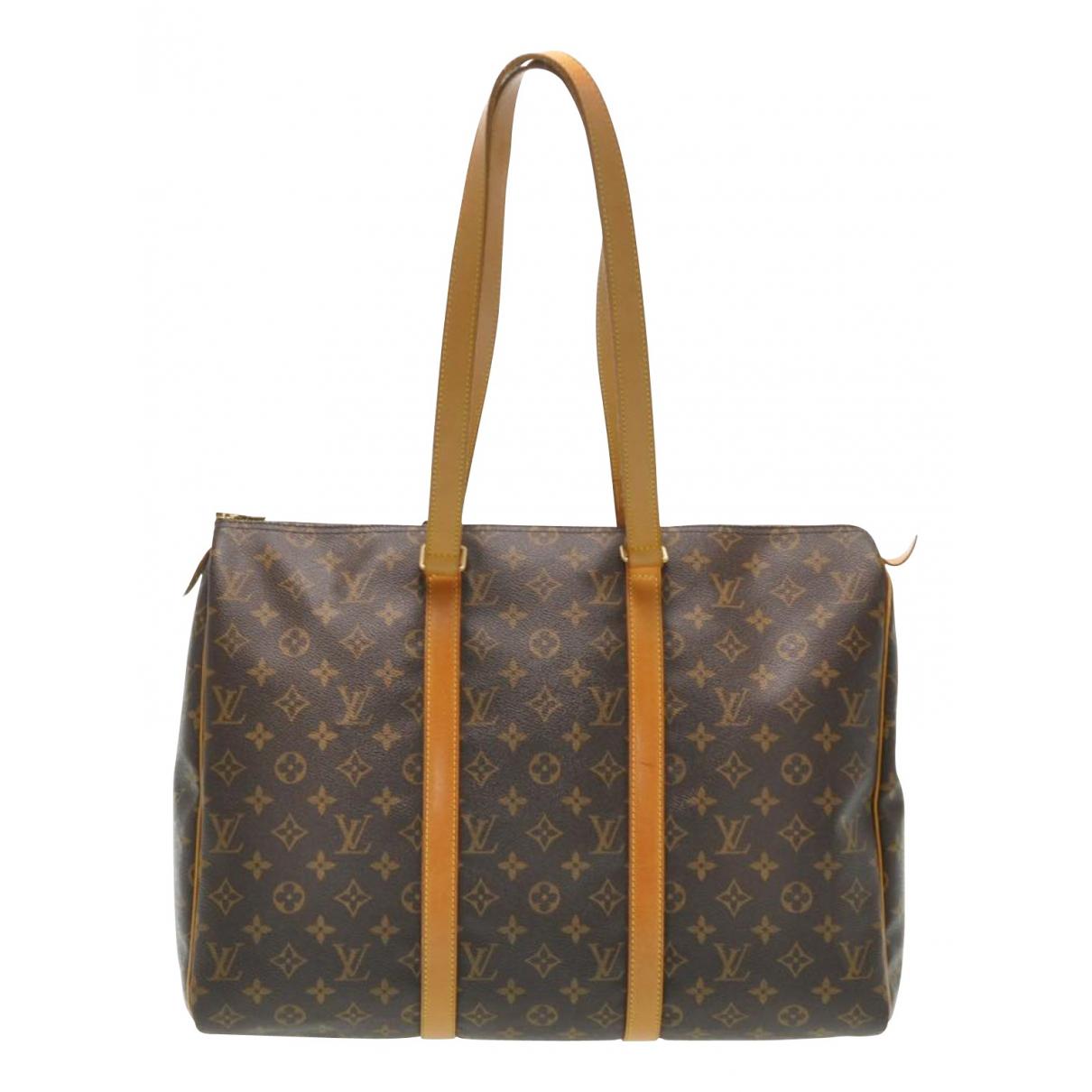Louis Vuitton - Sac de voyage Flanerie pour femme en toile - marron