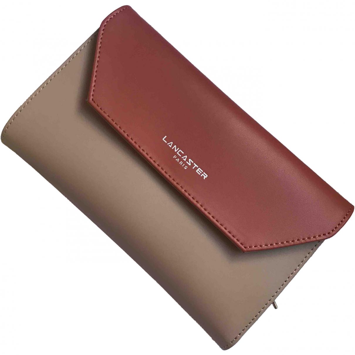 Lancaster \N Camel Leather wallet for Women \N