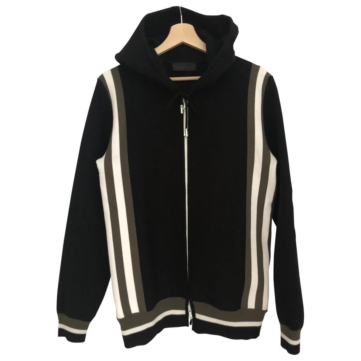 Diesel Black Gold \N Pullover.Westen.Sweatshirts  in  Schwarz Baumwolle