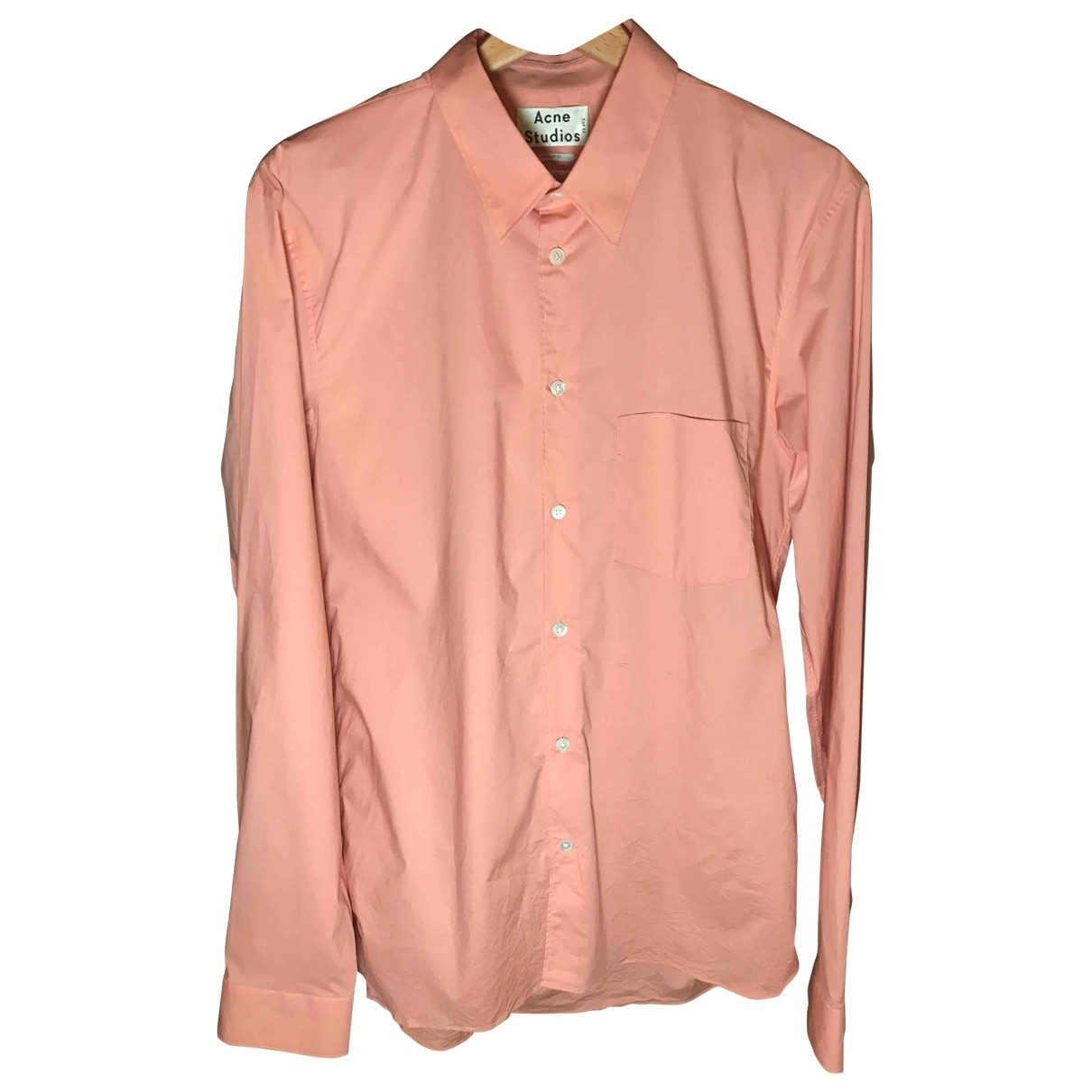 Acne Studios \N Orange Cotton Shirts for Men L International