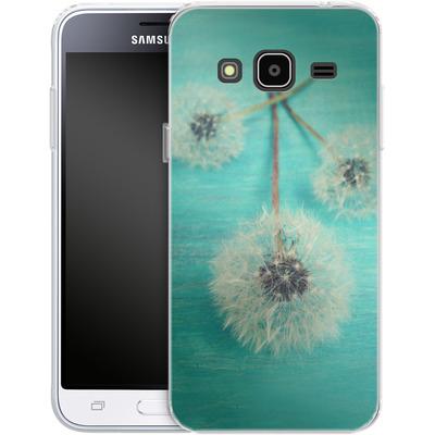 Samsung Galaxy J3 (2016) Silikon Handyhuelle - Three Wishes von Joy StClaire