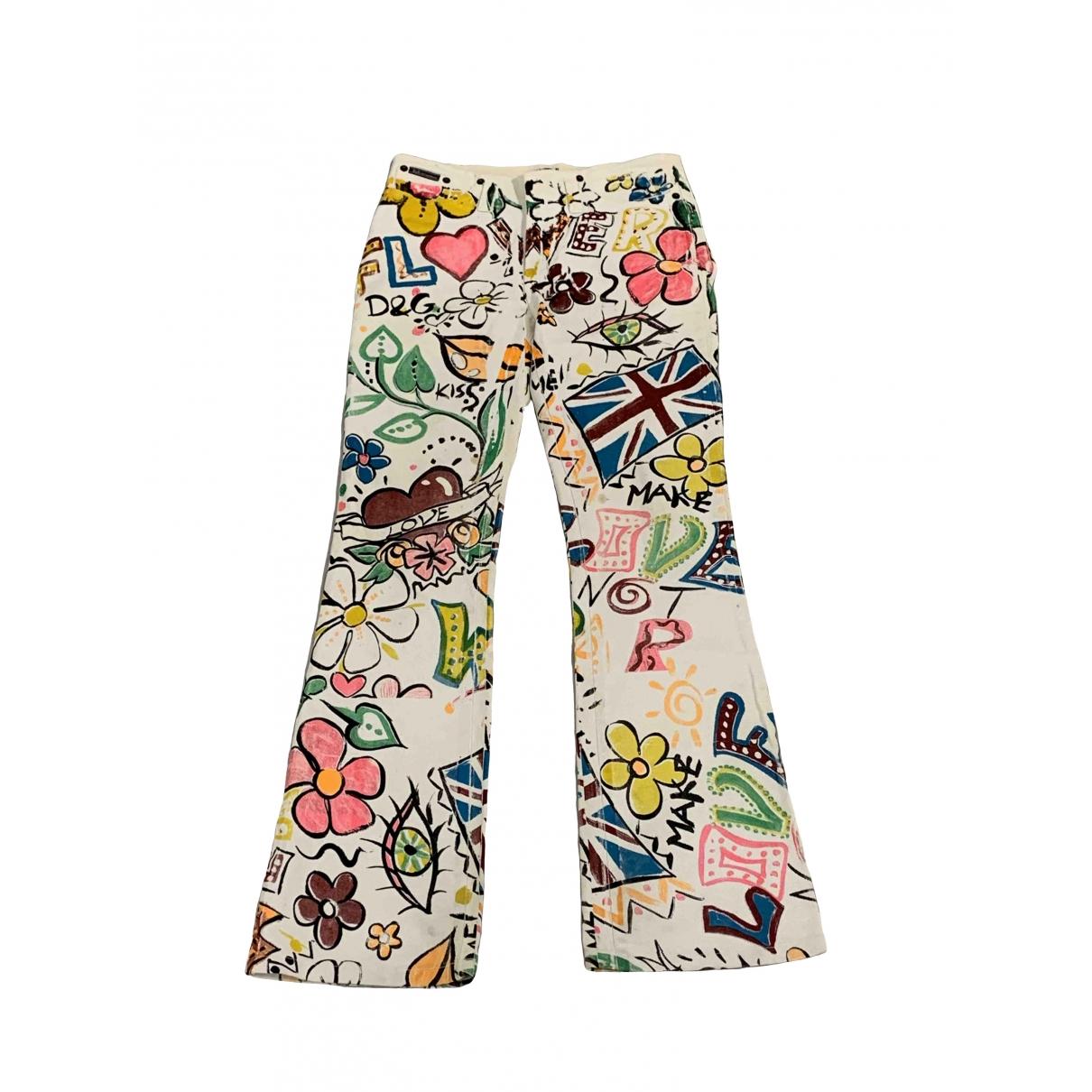 Dolce & Gabbana \N Cotton Jeans for Women 34 FR