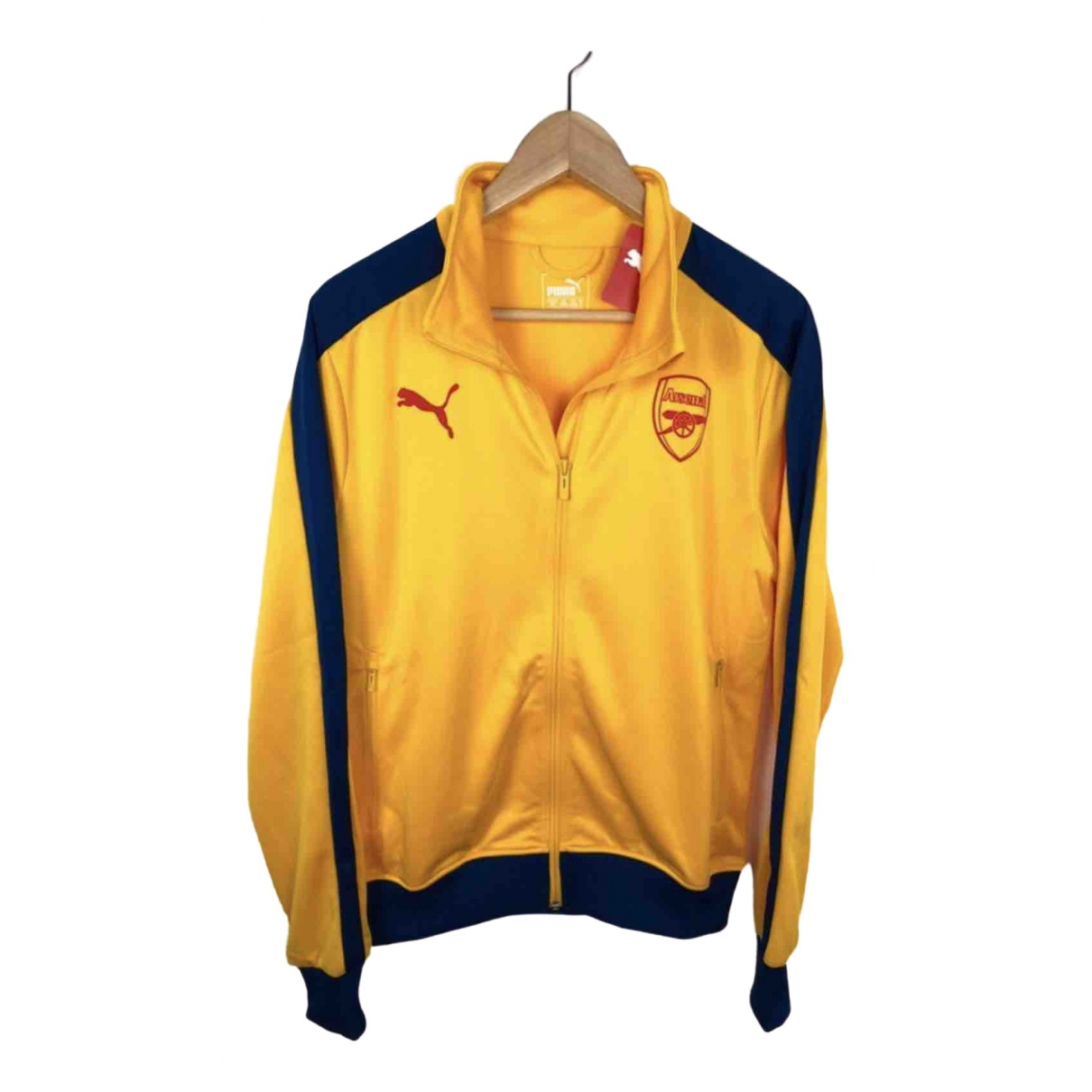 Puma \N Yellow jacket  for Men S International