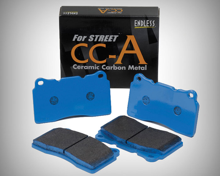 Endless EP 472 CCA R Rear Brake Pad Type CC-A Scion FR-S 13-
