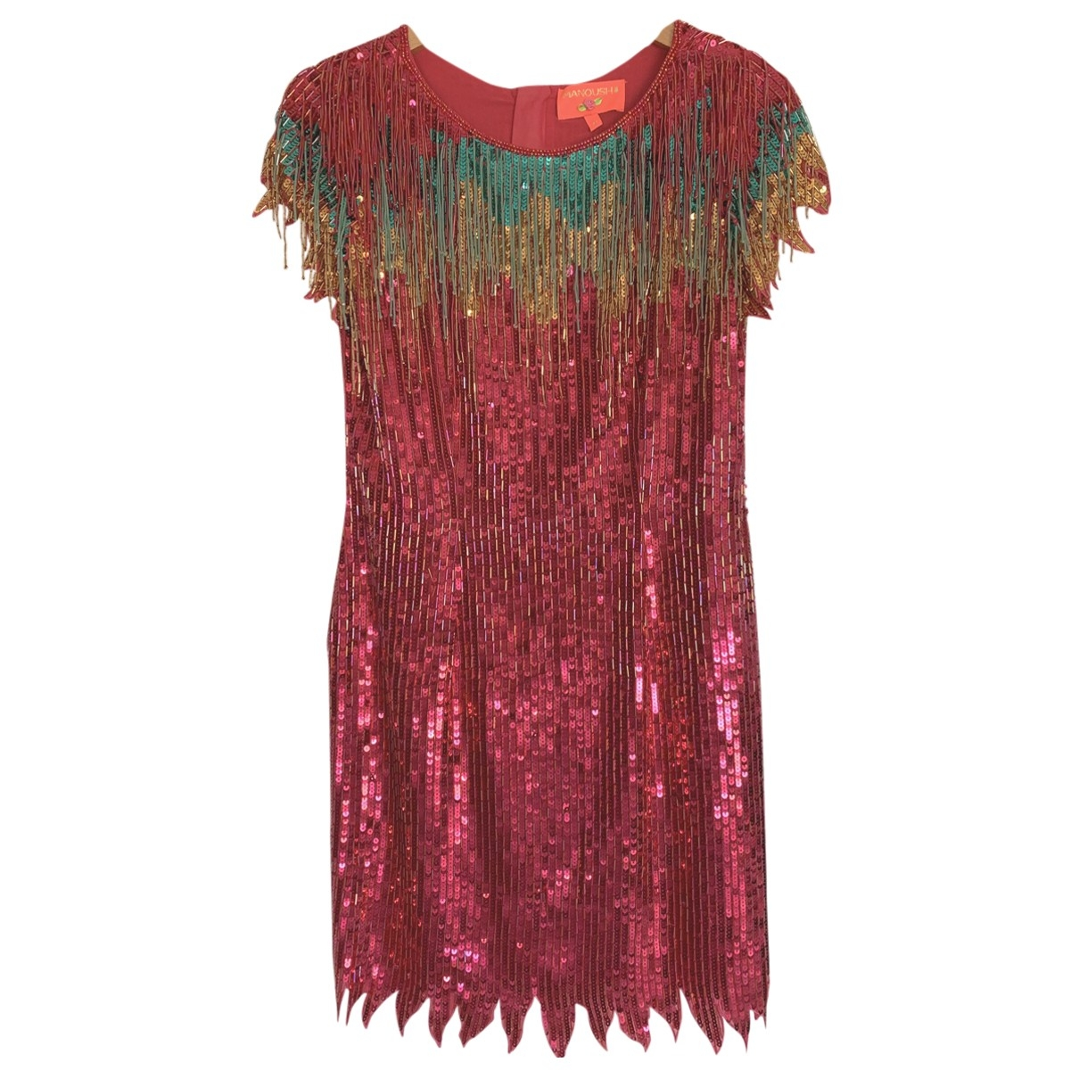 Manoush \N Pink Glitter dress for Women 36 FR