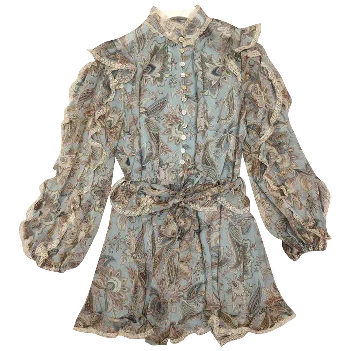 Zimmermann - Combinaison   pour femme en soie - multicolore