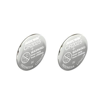 Rayovac 3V CR2025 lithium batterie de monnaie, 2 paquets