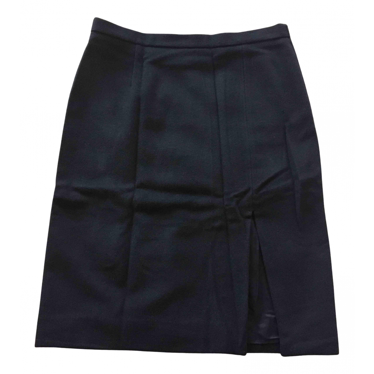 Moschino Cheap And Chic N Blue Wool skirt for Women 44 IT