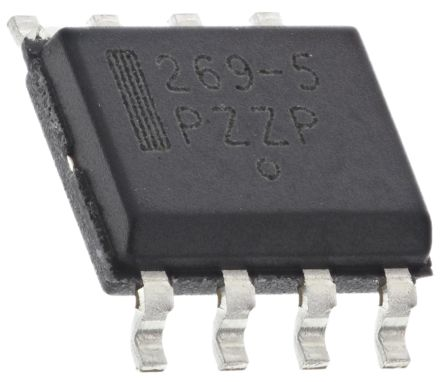 ON Semiconductor MC33269D-5.0G, LDO Regulator, 800mA, 5 V, ±1% 8-Pin, SOIC