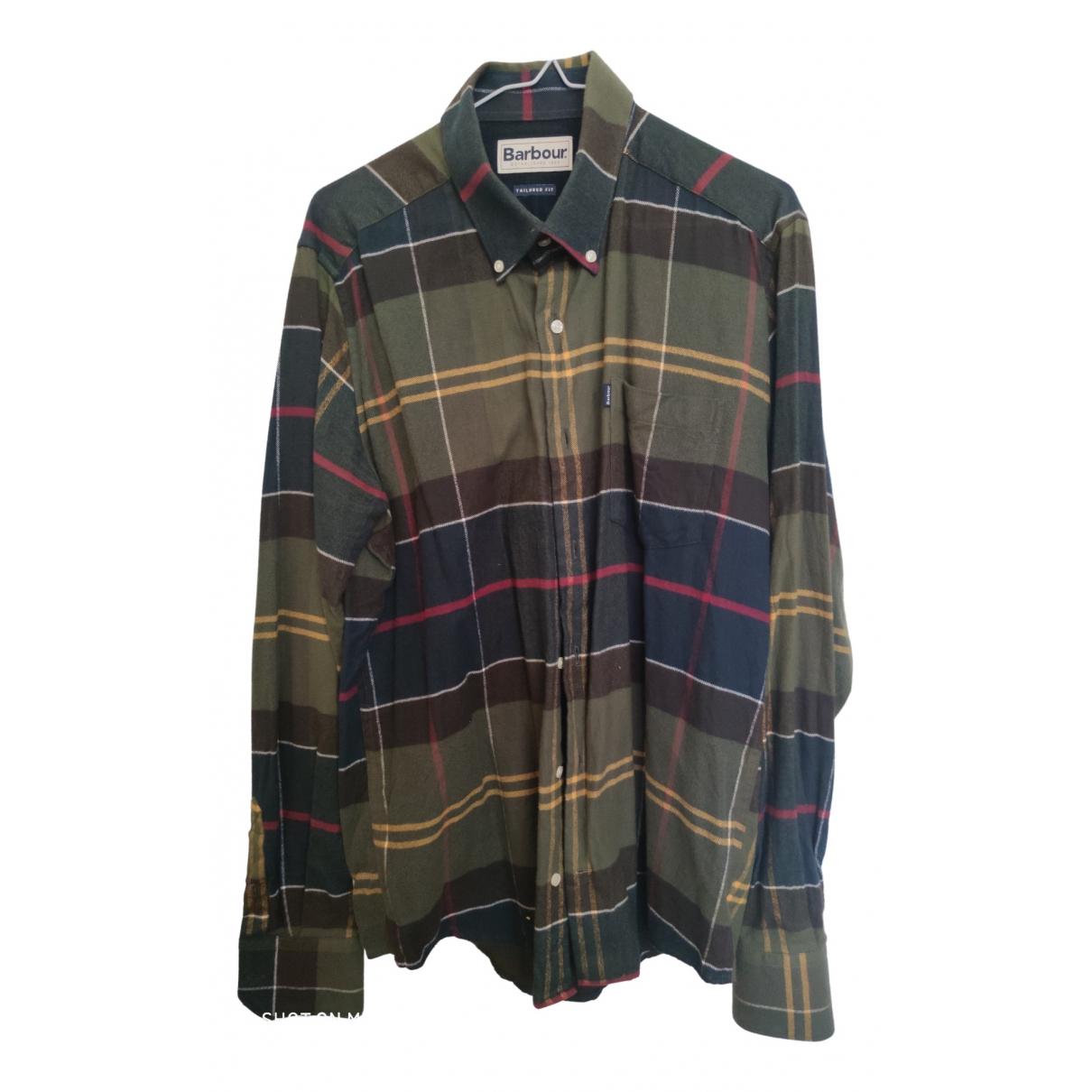 Barbour \N Cotton Shirts for Men M International