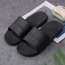 Guys Open Toe Wide Fit Sliders
