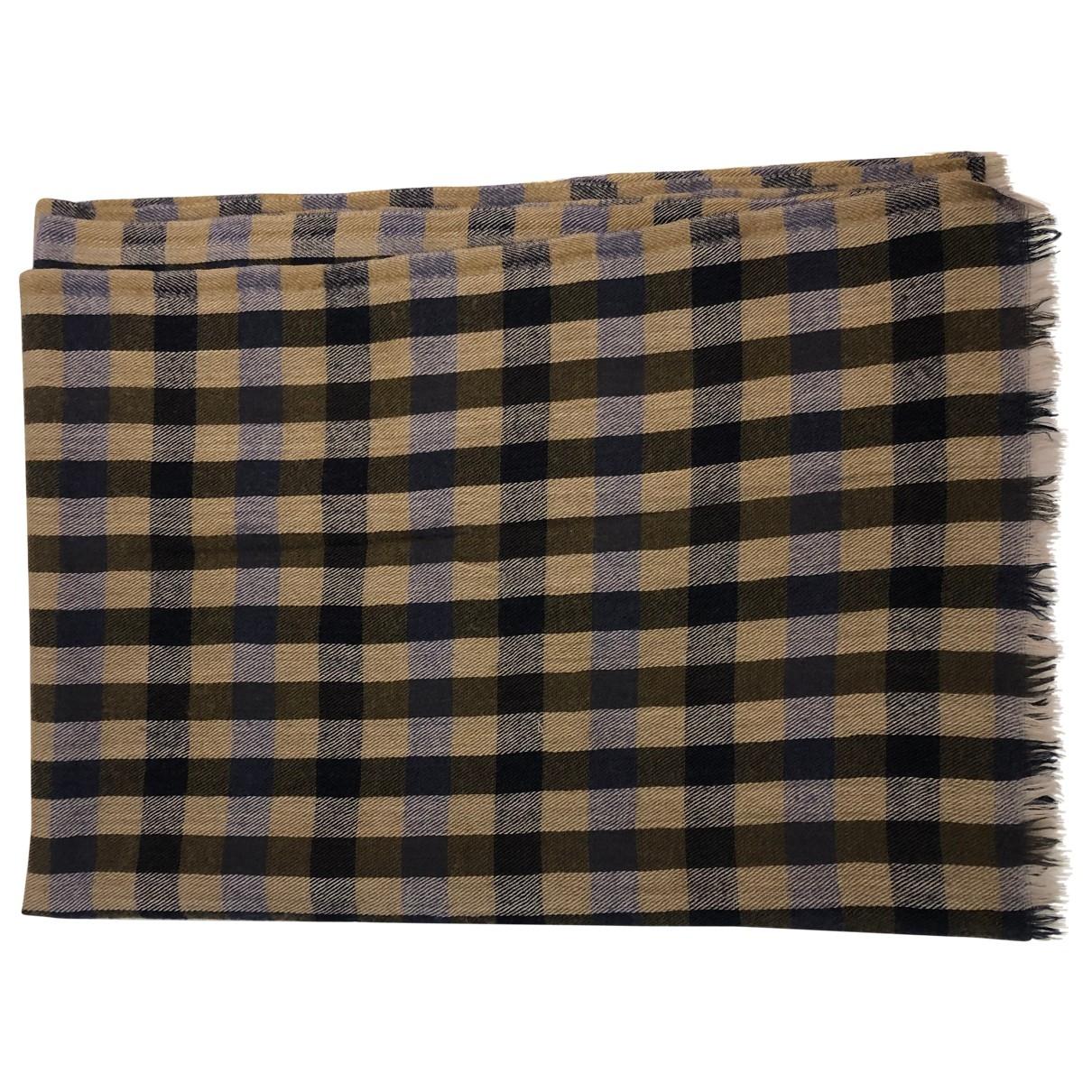 Aquascutum \N Tuecher, Schal in  Beige Wolle