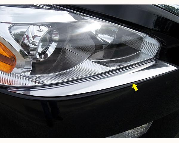 Quality Automotive Accessories 2-Piece Front Bumper Cap Nissan Altima 2013