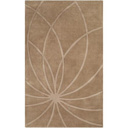 Mystique M-5460 8' x 11' Rectangle Modern Rug in Dark