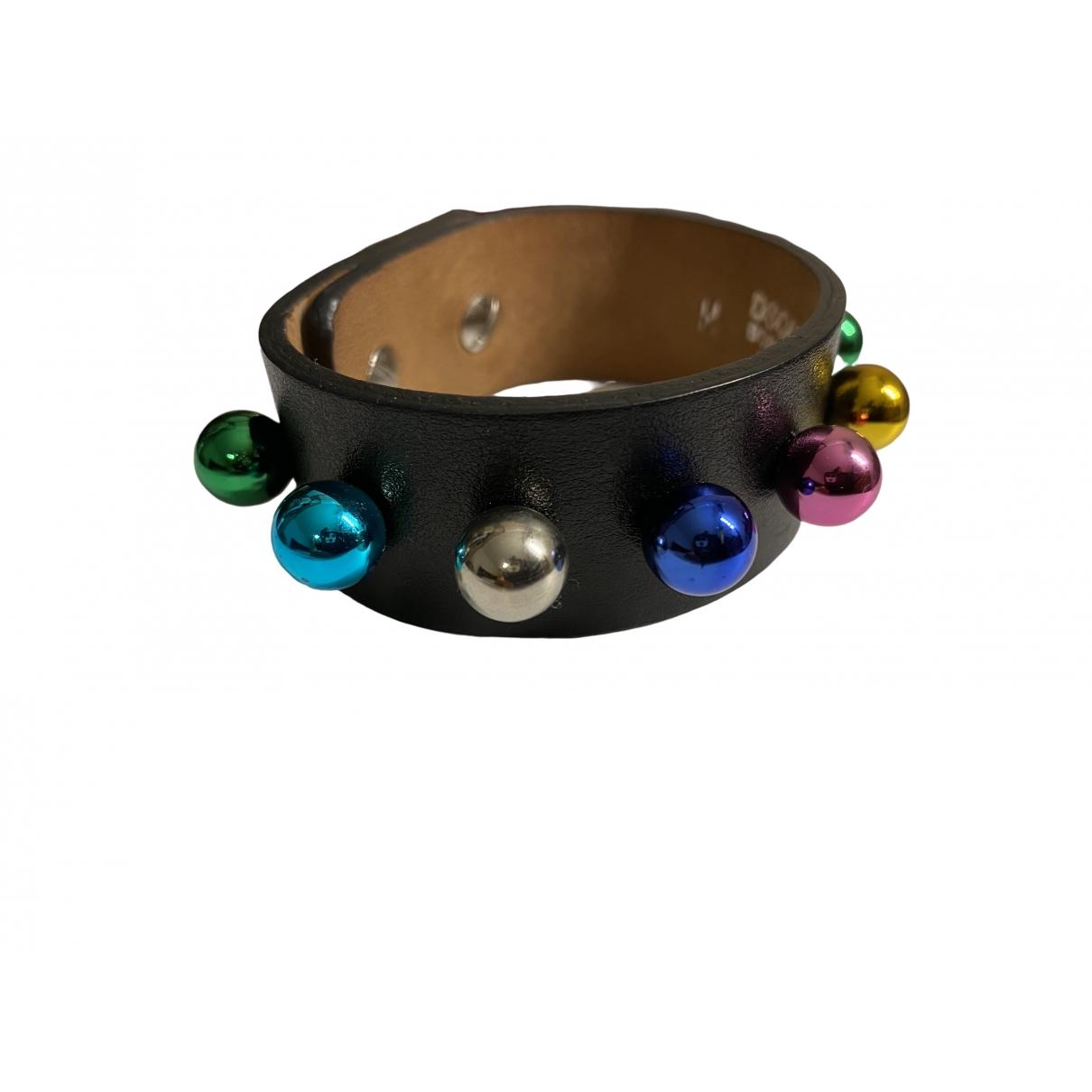 Dsquared2 - Bracelet   pour femme en cuir - noir