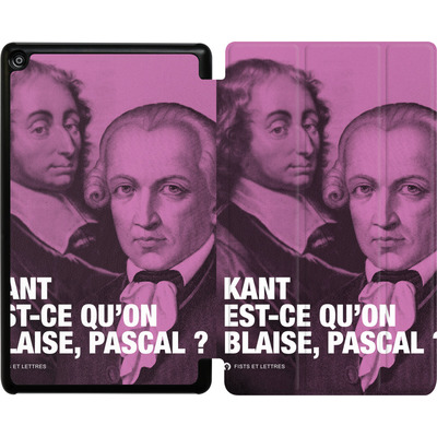 Amazon Fire HD 8 (2018) Tablet Smart Case - Kant Blaise Et Pascal von Fists Et Lettres