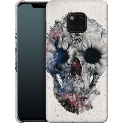 Huawei Mate 20 Pro Smartphone Huelle - Floral Skull 2 von Ali Gulec