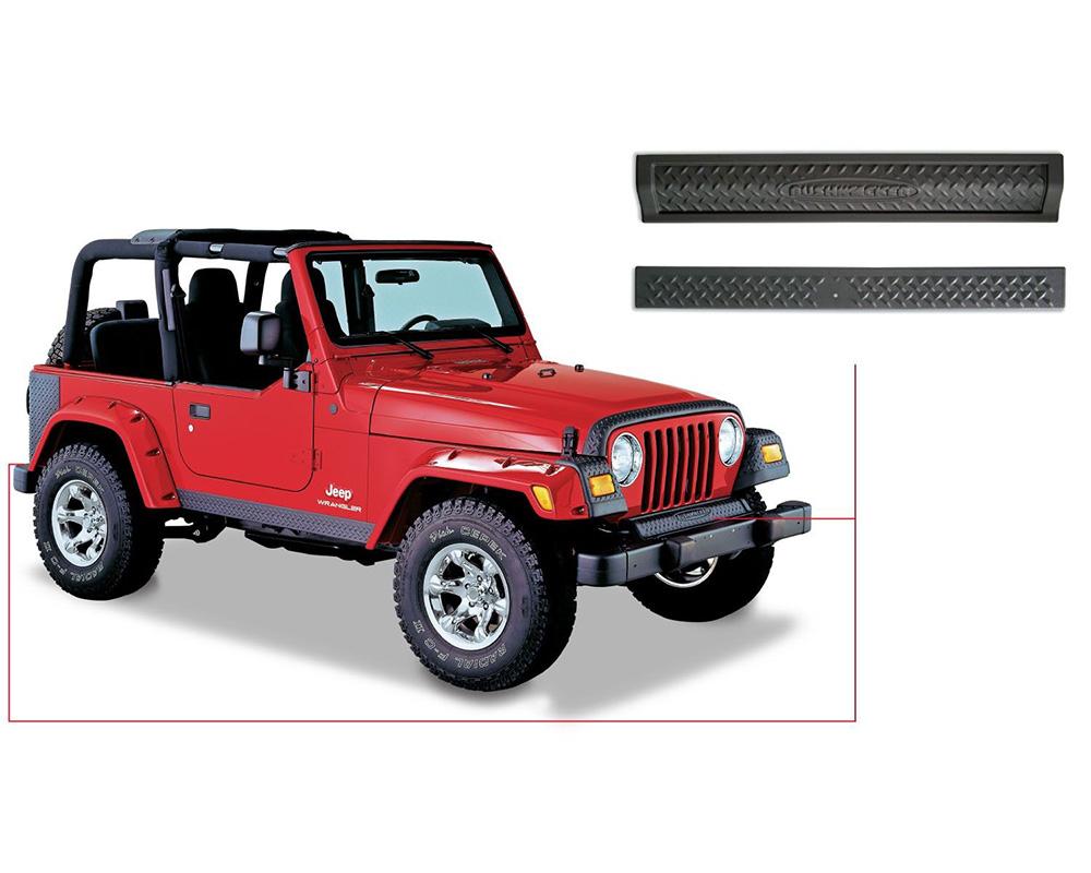 BUSHWACKER - TRAIL ARMOR Jeep Wrangler 1997-2006