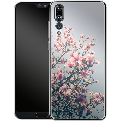 Huawei P20 Pro Silikon Handyhuelle - She Bloomed Everywhere She Went von Joy StClaire