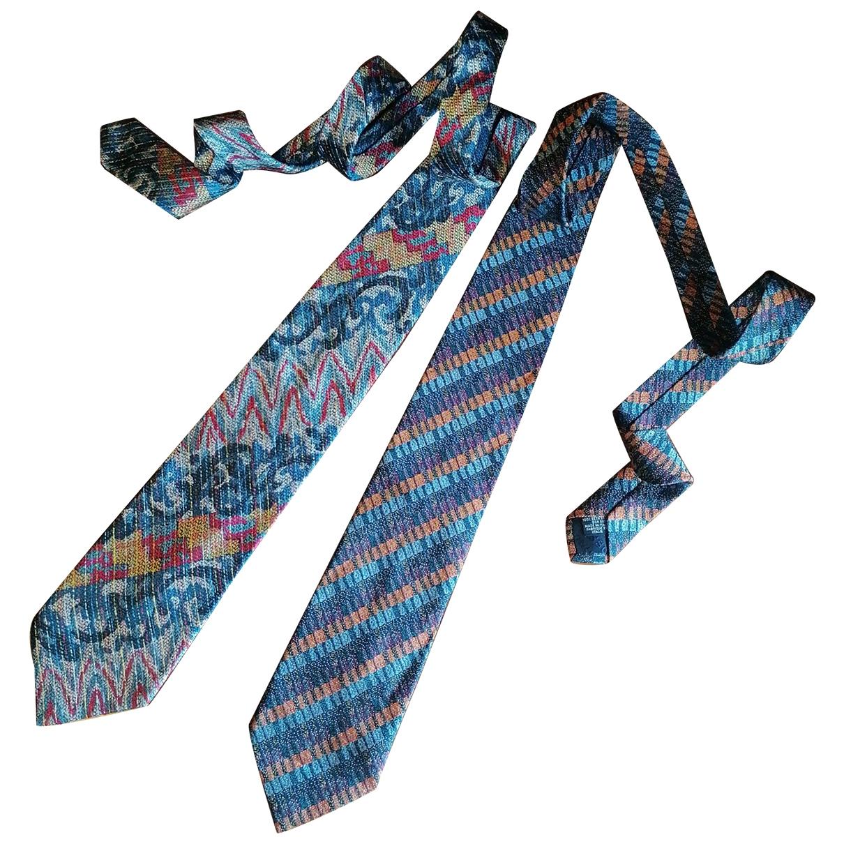 Missoni \N Multicolour Silk Ties for Men \N