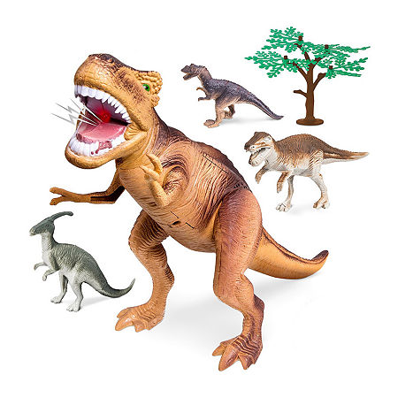 Discovery Kids T-Rex Dinosaur 5-Piece Collection, One Size , Multiple Colors