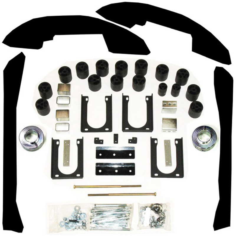 5 Inch Lift Kit 06-08 Dodge Ram 1500 Std/Ext/Crew Cabs 2WD Only Gas Performance Accessories PAPLS605