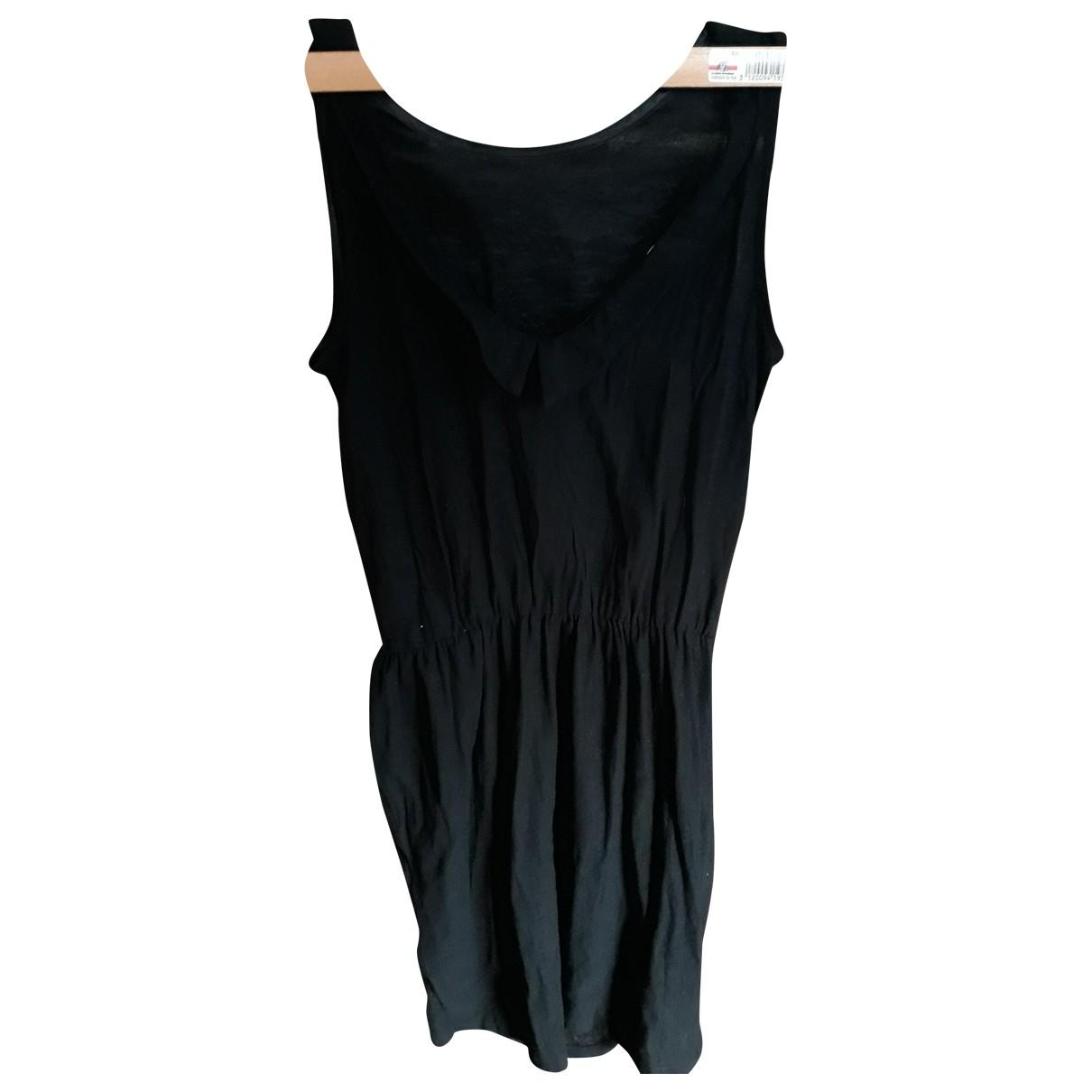 Sessun \N Kleid in  Schwarz Baumwolle