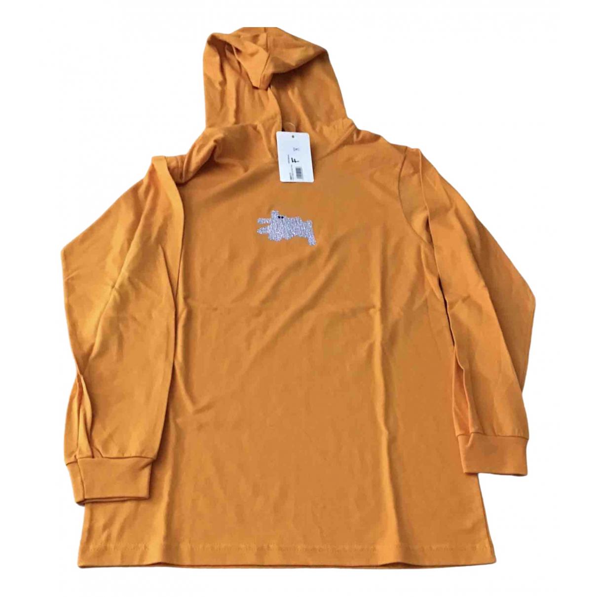 Stussy \N Pullover.Westen.Sweatshirts  in  Orange Baumwolle