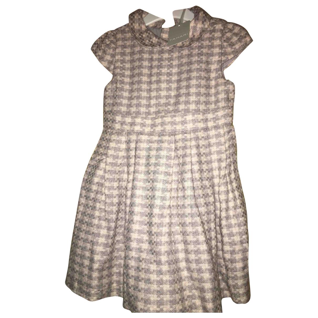 Elie Tahari - Robe    pour enfant en laine - violet