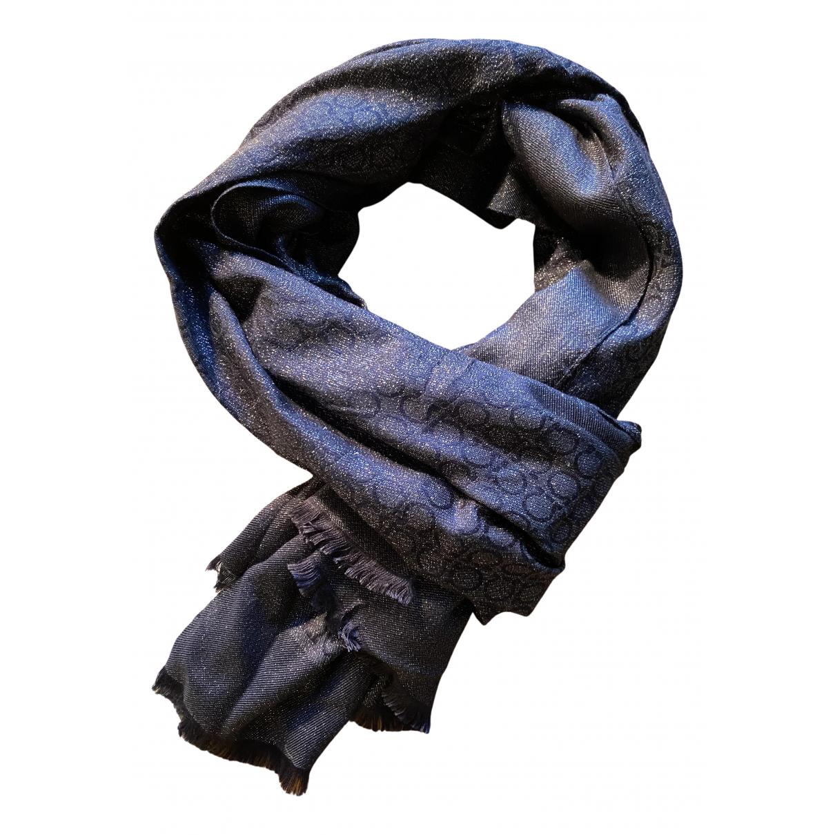 Salvatore Ferragamo N Silver Silk scarf for Women N