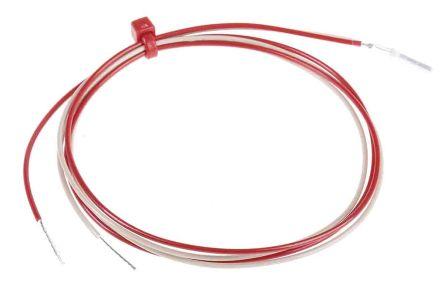 RS PRO 2 wire PT1000 Sensor, -50°C min +250°C max, 10mm Probe Length x 2mm Probe Diameter