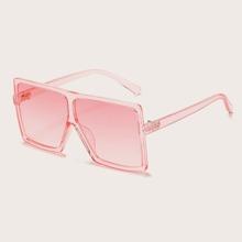 Kids Clear Acrylic Frame Sunglasses