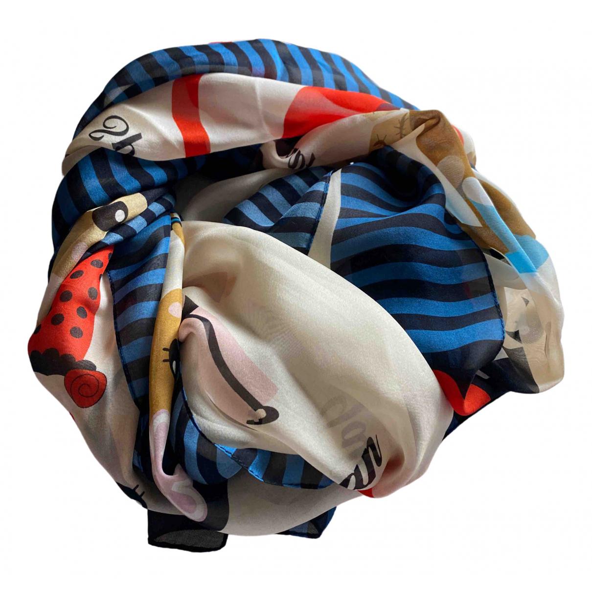 Moschino \N Schal in  Bunt Seide