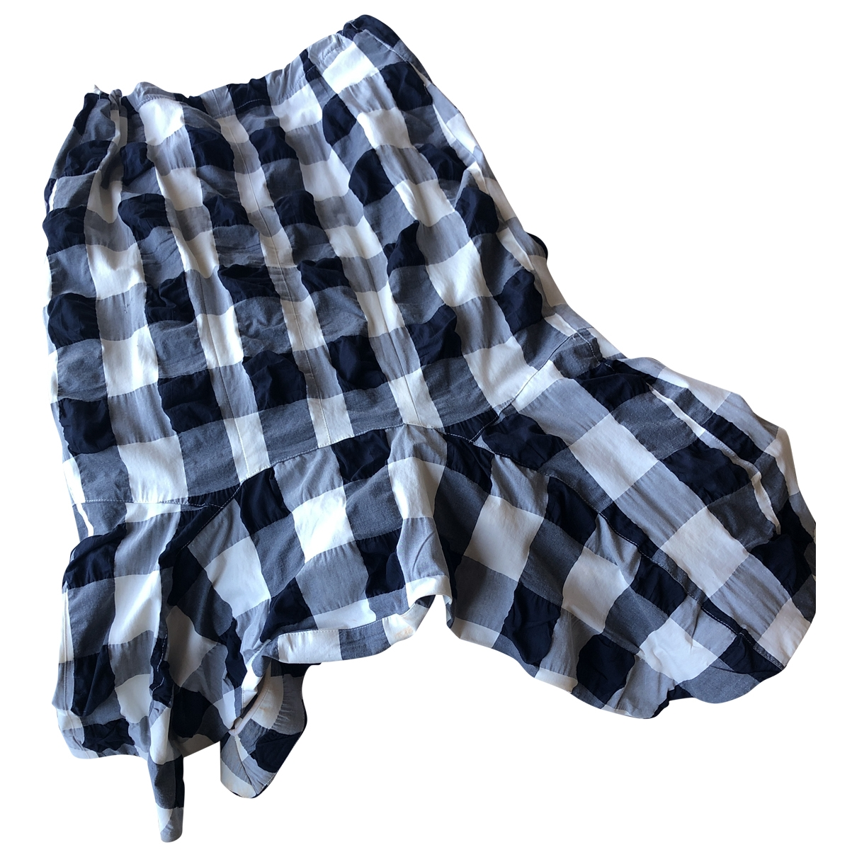 Bassike - Jupe   pour femme en coton - bleu