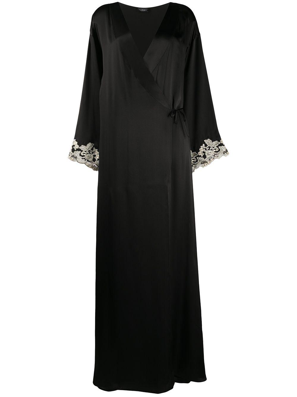 Maison Silk Long Robe