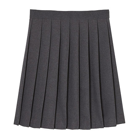 French Toast Little & Big Girls Pleated Skirt, 20 , Blue