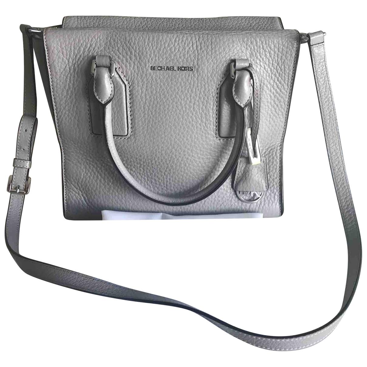 Michael Kors Selma Grey Leather handbag for Women \N