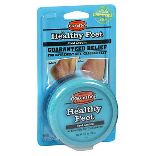 O'Keeffe's For Healthy Feet Daily Foot Cream 2.7 oz by O'Keeffe's