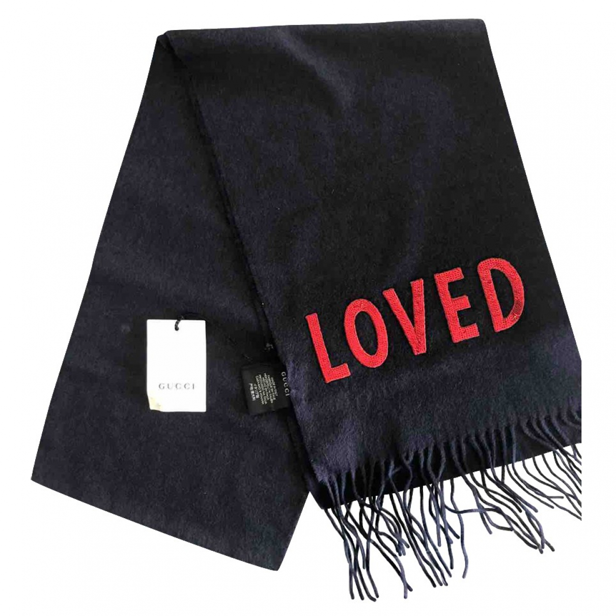 Gucci \N Black Cashmere scarf for Women \N
