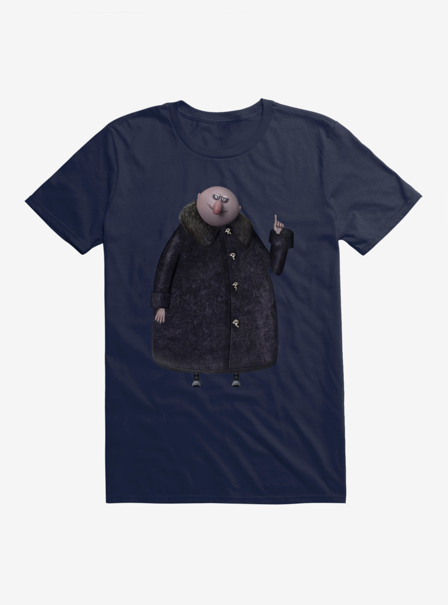The Addams Family Uncle Fester Side Pose T-Shirt