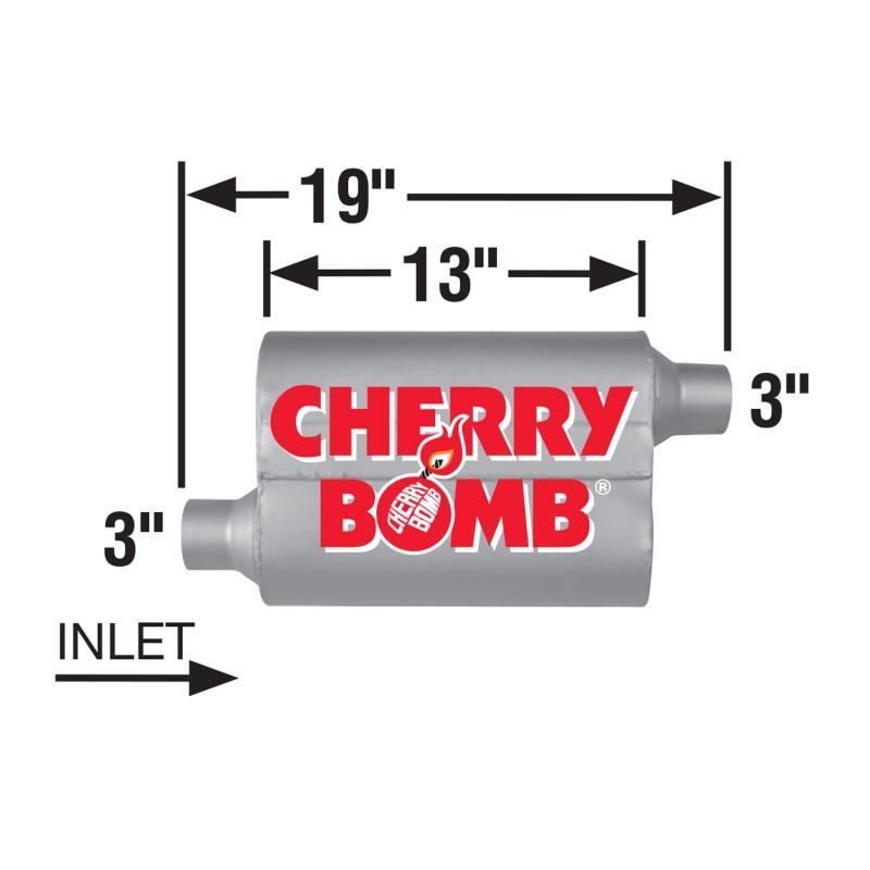 Muffler - Cherry Bomb 7415CB PRO
