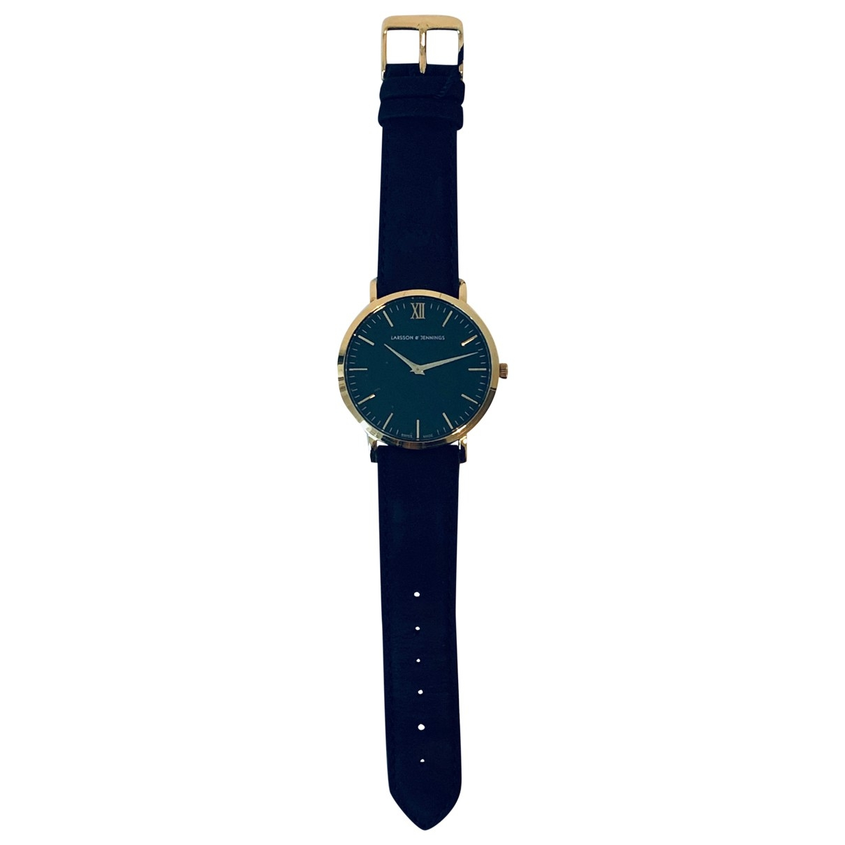 Larsson & Jennings \N Black Gold plated watch for Women \N