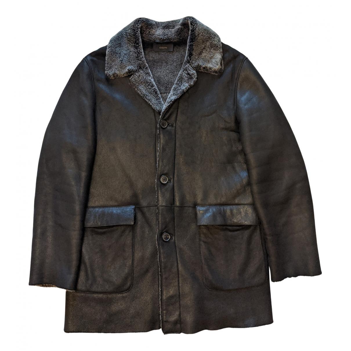 Joseph - Manteau   pour homme en mouton - marron