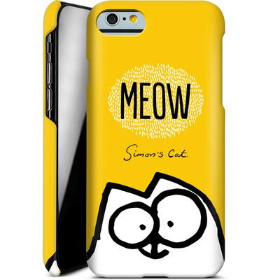 Apple iPhone 6 Smartphone Huelle - Meow Yellow von Simons Cat