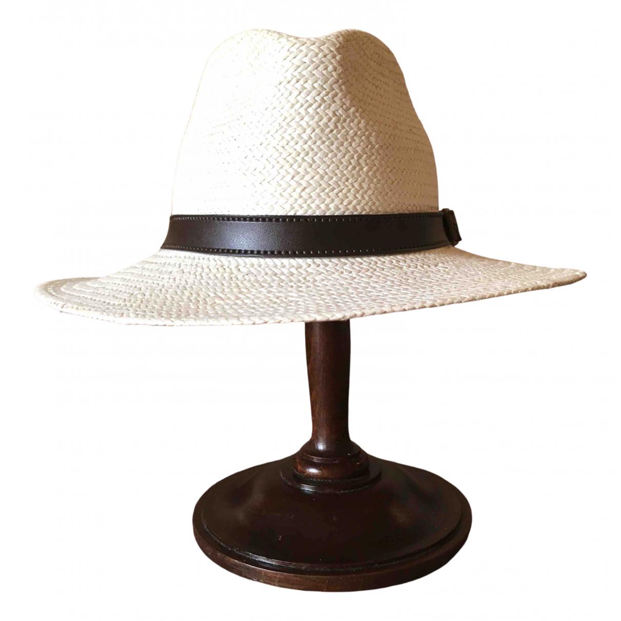 Sombreros en Paja Crudo Non Signe / Unsigned