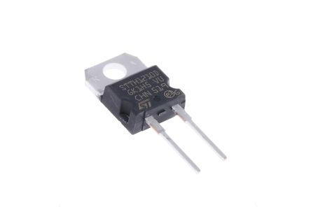 STMicroelectronics 1000V 12A, Silicon Junction Diode, 2-Pin TO-220AC STTH1210D (5)