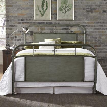 Vintage Series 179-BR15HFR-G King Size Metal Bed with Turned Spindles Headboard and Footboard in